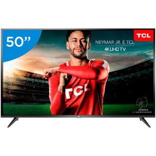 TV 50P TCL LED SMART 4K USB HDMI - 50P65US
