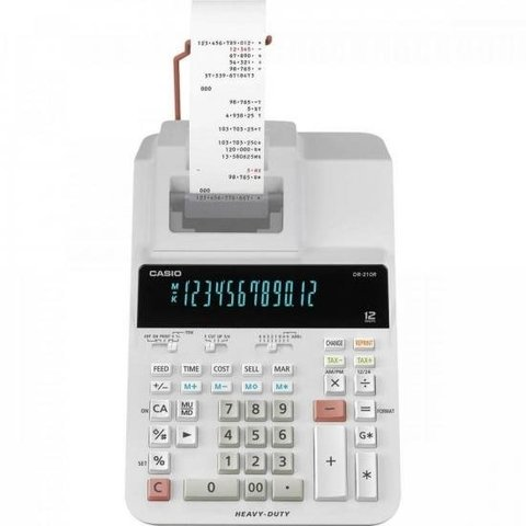 Calculadora com Bonina DR-210R WE CASIO