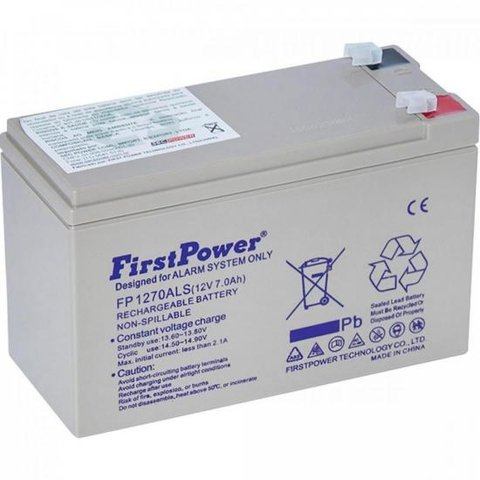 Bateria Selada FP1270ALS FIRSTPOWER