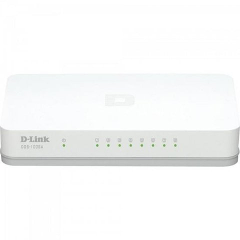 Switch 8 portas 1000MBPS DGS-1008A Branco D-LINK