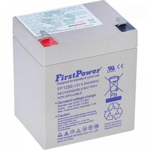 Bateria Selada FP1250 FIRSTPOWER