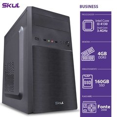 COMPUTADOR BUSINESS B300 - I3-4130 3.4GHZ 4GB DDR3 HD 500GB