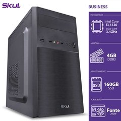 COMPUTADOR BUSINESS B300 - I3-4130 3.4GHZ 4GB DDR3 SSD 160GB
