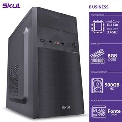 COMPUTADOR BUSINESS B300 - I3-4130 3.4GHZ 8GB DDR3 HD 500GB