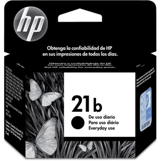 Cartucho HP 21B preto everyday C9351BB HP CX 1 UN