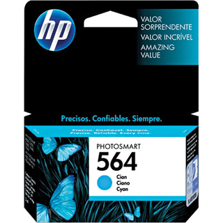 Cartucho HP 564 ciano CB318WL HP CX 1 UN