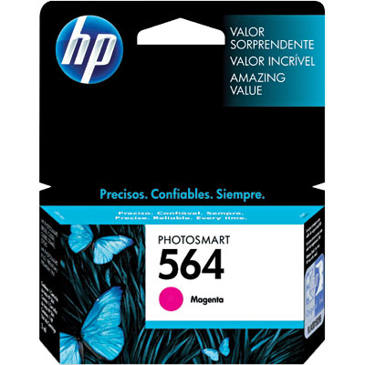 Cartucho HP 564 magenta CB319WL HP CX 1 UN
