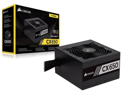 Fonte Corsair 650W 80Plus Bronze - CX650