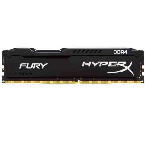 Memoria Kingston Hyperx Fury 16gb Ddr4 2400mhz 1.2v Black PC HX424C15FB/16