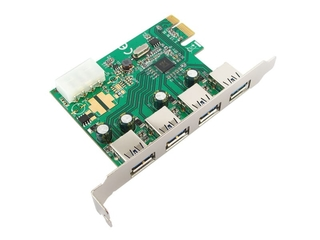 Placa Comtac PCI-Express USB 3.0 - 4 Portas - 9349