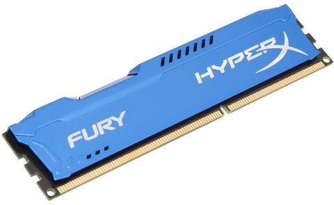 Memória Kingston 4gb Ddr3 1600mhz 1.5v Hyperx Fury Blue PC Hx316c10f/4
