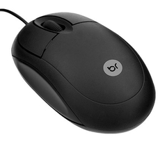 Mouse Bright USB Preto - 0106