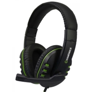 Headset GameMax Gamer HG333 Preto/Verde