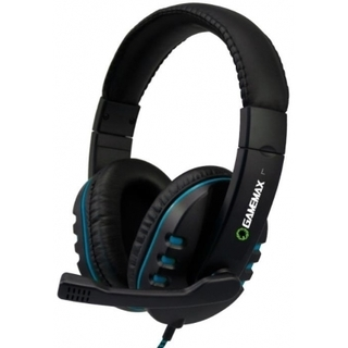 Headset GameMax Gamer HG333 Preto/Azul