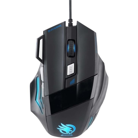 Mouse Gamer Fortrek BLACK HAWK 2400DPI OM-703
