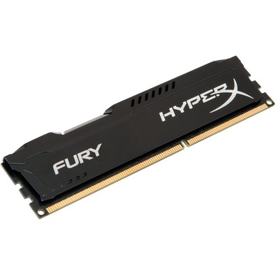 Memória Kingston Hyperx Fury 4gb Ddr3 1866mhz 1.5v Black PC Hx318c10fb/4