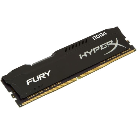 Memória Kingston HyperX FURY 8GB DDR4 2400Mhz Black PC HX424C15FB2/8