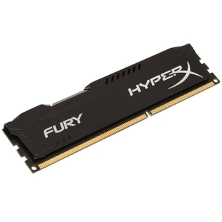 Memória Kingston 8gb Ddr3 1600mhz 1.5v Hyperx Fury Black PC HX316C10FB/8