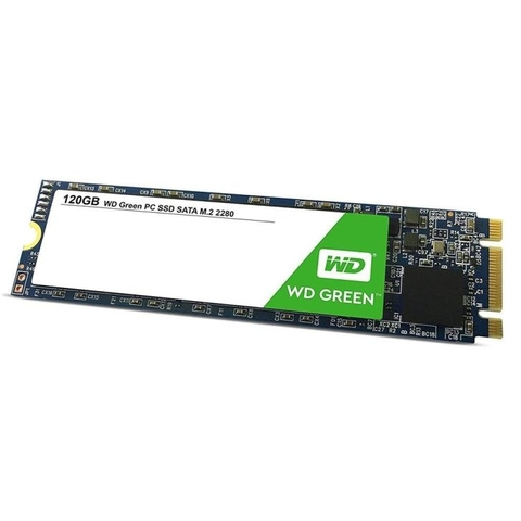 SSD WD 120Gb Green M.2 Leitura 545MB/s - WDS120G2G0B