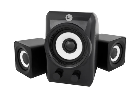 Caixa de Som Bright Mini Subwoofer USB - 0506