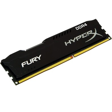 Memoria Kingston Hyperx Fury 4gb Ddr4 2400mhz 1.2v Black PC Hx424c15fb/4