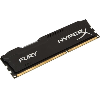 Memória Kingston 8gb Ddr3 1866mhz 1.5v Hyperx Fury Black PC HX318C10FB/8