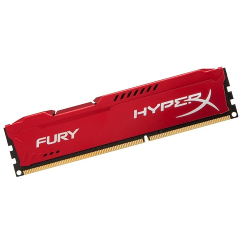 Memória Kingston 8gb Ddr3 1866mhz 1.5v Hyperx Fury Red PC HX318C10FR/8