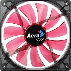 Fan AEROCOOL P/ Gabinete 140x140x25 LED RED EN51370