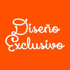 Sticker en pico o rectangular - DISEÑO EXCLUSIVO - x36