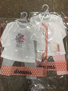 Conjunto Dreams Bebe Jersey Art 989