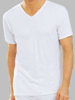 Camiseta Narocca Art. 991 Interlock M/Corta Escote V T. 38/48