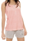 Pijama Musculosa y Short Lady Love Art 1469
