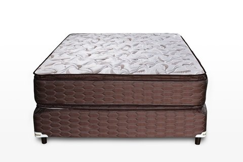 Colchon Y Sommier Superstar Con Pillow Top 140X28X190 Suavestar
