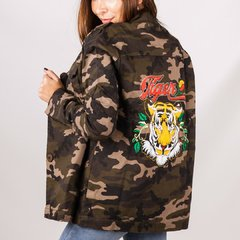 Campera Bordada Tiger