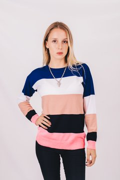 Sweater Color Block - comprar online