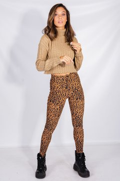 Pantalon Bengalina Animal Print