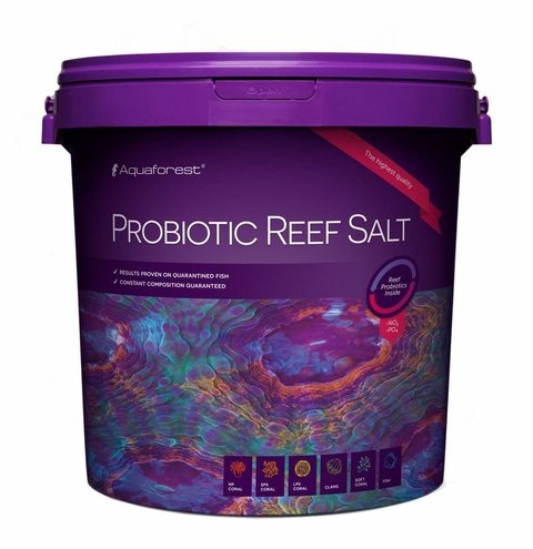 Sal Probiotic Reef Salt 22kg - Aquaforest