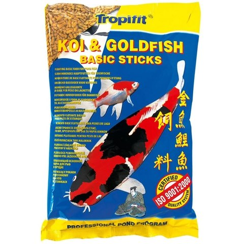 Ração Tropical Koy Goldifish Basic Sticks 90g