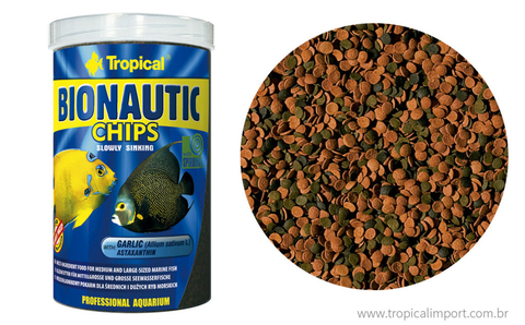 Ração Tropical Bionautic Chips 130g