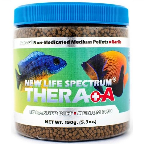 Ração New Life Spectrum Thera A Medium Fish Fórmula - 2 mm. 150g
