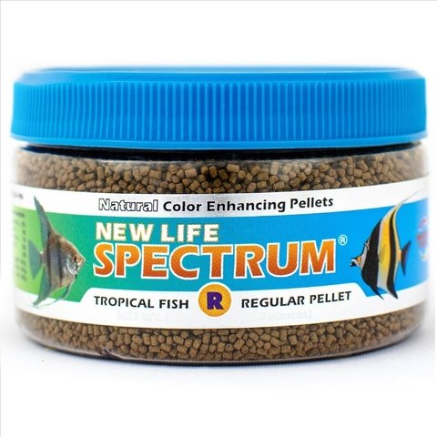Ração New Life Spectrum Regular Pellet 1mm 80g