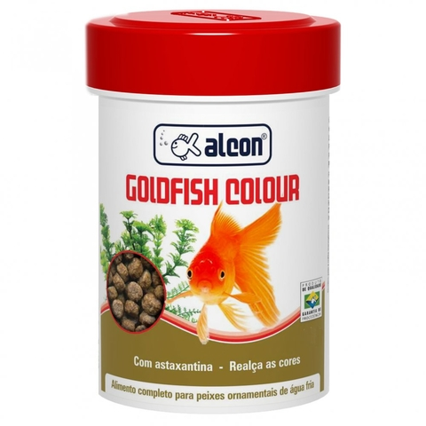 Ração Alcon Gold Fish Colours  Bits 110g