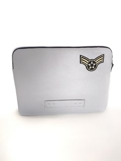 Funda Laptop Parche Gris