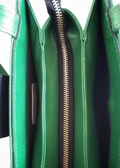 Colette Shoulder Bag Aplique Verde en internet