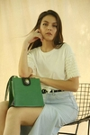 Colette Shoulder Bag Aplique Verde