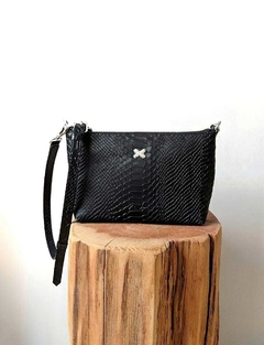 Cartera Lotus Anaconda Black