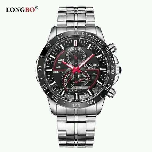 b723ab6f820 Longbo 80132 À Prova D  Água Mens Relógios Top Marca De Luxo
