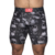 Cueca Boxer Long Leg Kevland Black and White Skulls - comprar online