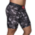 Cueca Boxer Long Leg Kevland Black and White Skulls na internet