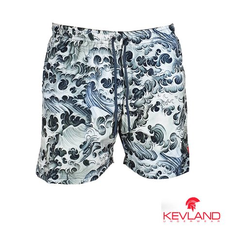 Short Kevland Black Waves II